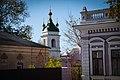 Миколаївська церква та дзвіниця ,Вид з вул.Миру.jpg