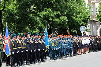 Public holidays in South Ossetia - Victory Day in Tskhinvali 2018.