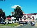 Просты аршанскі гарадскі краявід ... Simple Orsha cityscape - panoramio.jpg