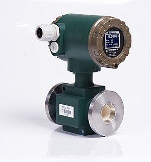 Magnetic flow meter - Electromagnetic flow meter