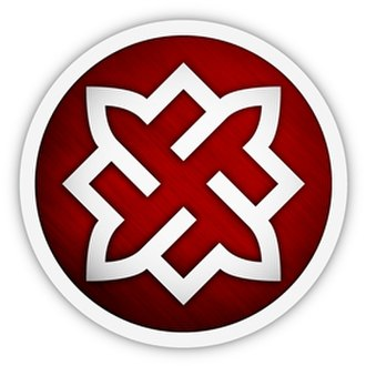 Russian National Unity - Logo of Russian National Unity featuring a swastika
