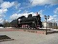 Сосногорск, паровоз-памятник 02.jpg