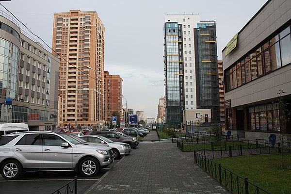 Улица Семьи Шамшиных