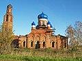 Церковь Благовещения (Москва и Московская область, Зарайск, село Клин-Бельдин) вид прямо.jpg