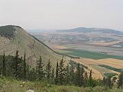 רכס הרי הגלבוע, במרכז הר שאול