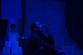 نمایش هملت در قم به کارگردانی علی علوی و گروه تئاتر گاراژ به روی صحنه رفت hamlet Garage Theater qom 12.jpg