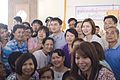 ชาวชัยภูมิให้การต้อนรับนายกรัฐมนตรีอย่างอบอุ่น หลังจา - Flickr - Abhisit Vejjajiva.jpg
