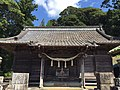 加茂神社(鴨川市)拝殿20150922撮影.jpg