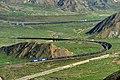巡道工出品 photo by Xundaogong——二郎螺旋展线和二郎站内的货车 - panoramio.jpg