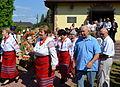 011 Heilige Messe im byzantinischen Ritus und Erntedankumzug 2013 am 18. August in Mokre, Beskiden.JPG