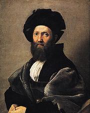 Portret Baldassare Castiglione.