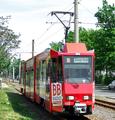 027 tram 168 departing Leipziger Straße.png