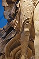 02 2020 Grecia photo Paolo Villa FO190030 (Museo archeologico di Olimpia - Statua della Vittoria-Nike scolpita da Paionios - dettaglio del panneggio bagnato e gamba - detail).jpg