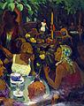 033 Ajuntament de Terrassa, sala de l'alcaldia, pintura de Rafael Benet.JPG