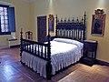 039 Monestir de Sant Benet de Bages, estances de Ramon Casas, dormitori.jpg
