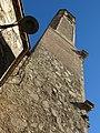 095 Església de Santa Maria (Badalona), campanar, des del carreró de la Font.jpg