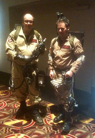 Ghostbusters - Film fans dressed as Ghostbusters in 2011