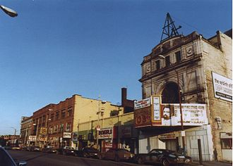 105th and Euclid - 105th and Euclid in 1981
