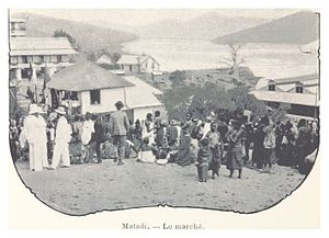 Matadi - The market, 1899