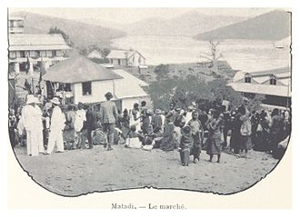 Matadi - The market, 1899