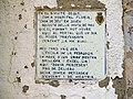 149 Antic hospital, c. Padró 11 (Artés), placa.jpg