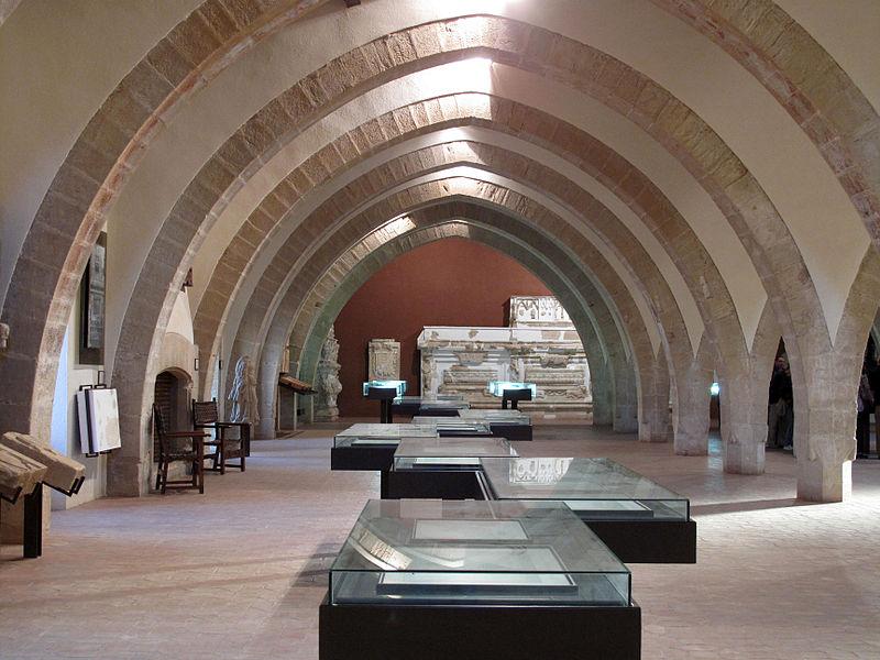 149 Monestir de Poblet, museu (Palau del Rei Martí).jpg