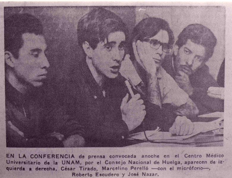 File:14 primera conferència de premsa després de la masacre del 2 d'octubre, 5 d'octubre de 1968.jpg