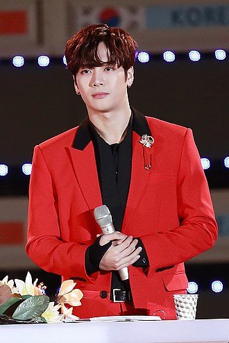 Jackson Wang - Wang in October 2017