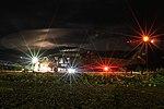 171108-A-IL939-569 KFOR UH-60 Black Hawk at Camp Bondsteel night takeoff.jpg
