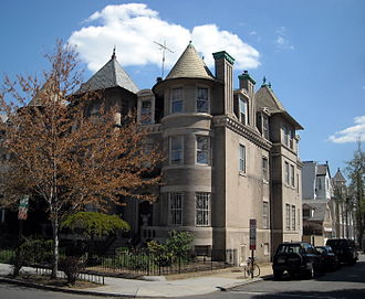 Samuel Baldwin Marks Young - Young's former residence in the Dupont Circle neighborhood of Washington, D.C.