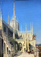 Tower of Milan Cathedral