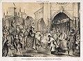 1847, España pintoresca y artística, Proclamación de Isabel la Católica en Segovia, Francisco de Paula Van Halen.jpg