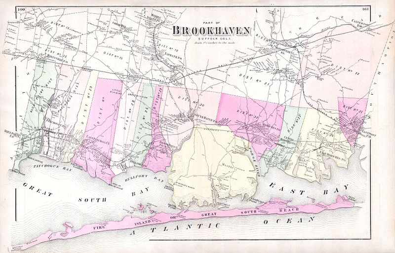 File:1873 Beers Map of Brookhaven and Fire Island, Long Island, NY - Geographicus - BrookhavenS-beers-1873.jpg