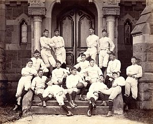 1879 Princeton Tigers football team - Image: 1879 Princeton Tigers (team picture)