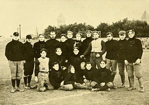 1897 Purdue Boilermakers football team - Image: 1897 Purdue football team