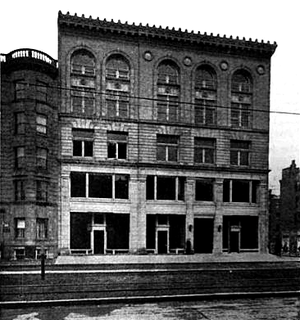 New England Women's Club - New Century Building, Huntington Ave., Boston; club headquarters, ca.1903
