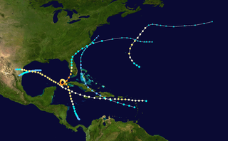 1910 Atlantic hurricane season hurricane season in the Atlantic Ocean