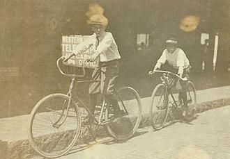 Western Union - Wilbur Bold, a 12-year-old Western Union messenger boy, Tampa, Florida, 1911.