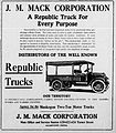 1918 - J M Mack Corporation Newspaper Ad Allentown PA.jpg