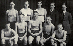1920–21 Michigan Wolverines men's basketball team - Image: 1920 21 Michigan basketball team