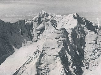 Shipton–Tilman Nanda Devi expeditions - Nanda Devi photographed in 1936