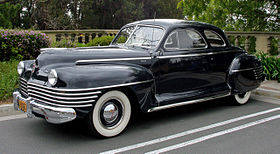 1942 Chrysler Windsor coupe C34 front left.jpg