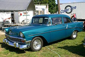 English: 1956 Chevrolet Two Ten Series 2100B, ...