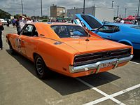 1969 Dodge Charger coupe - General Lee (12404041133).jpg
