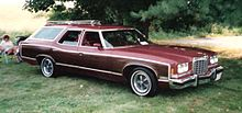 Pontiac Grand Safari, שנת 1974