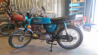 Suzuki A100 Japanese motorcycle made beginning 1966