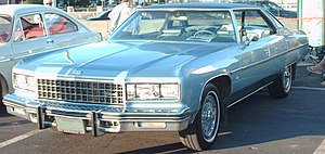 Downsize (automobile) - 1976 Chevrolet Caprice