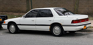 Acura Legend - 1990 Acura Legend L (US)