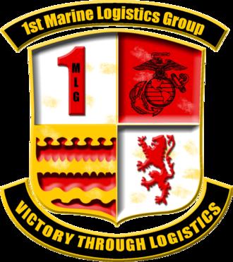1st Marine Logistics Group - 1st MLG insignia