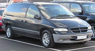 Chrysler minivans (NS) - 2001 Chrysler Grand Voyager LE (RHD)